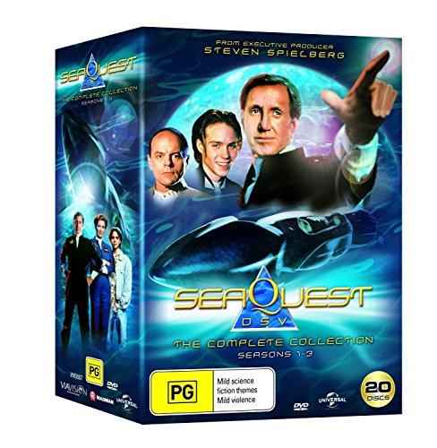 SeaQuest DSV - Complete Collection (DVD Seasons 1 - 3 58 Espisodes)