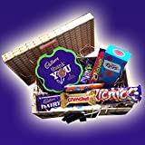 Cadbury Thank You Chocolate Hamper Box -Say Thank You to Some Special - By Moreton Gifts