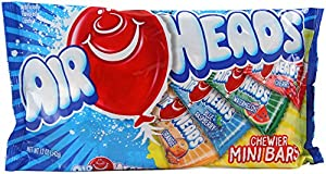 Airheads Chewier Mini Bars Variety Pack, 12 Ounce