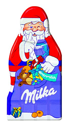 Milka Santa Claus Alpenmilch Chocolate ( 85 g )