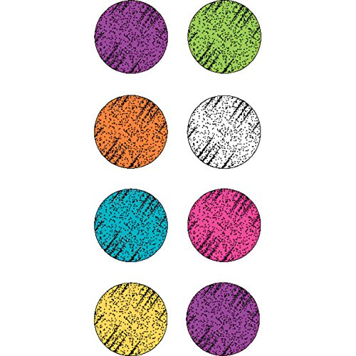 Teacher Created Resources Colorful Chalk Mini Stickers (5645)
