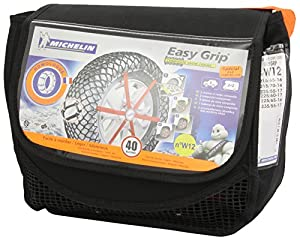 michelin 7909 easy grip snow chains w12 car motorbike. Black Bedroom Furniture Sets. Home Design Ideas
