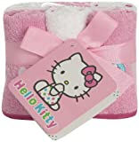 Hello Kitty Infant Wash Cloth Set, White/Pink, 6 Piece