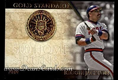 2012 Topps Gold Standard Inserts # 10 GS 500 Home Runs Reggie Jackson Los Angeles Angels (Baseball Card) Dean's Cards 8 - NM/MT