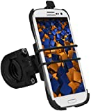 mumbi Fahrradhalterung Samsung Galaxy S3 TwoSave (doppelt gesichert) f�r Motorrad und Fahrrad Halterung