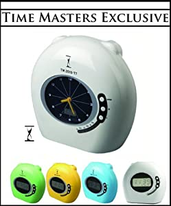 Time Masters Thermal Printing Employee Payroll Time Clock (For Weekly/Biweekly Pay Periods) (Analog Display) in Gray- Great for Small Business- Includes 100 FREE Time Cards