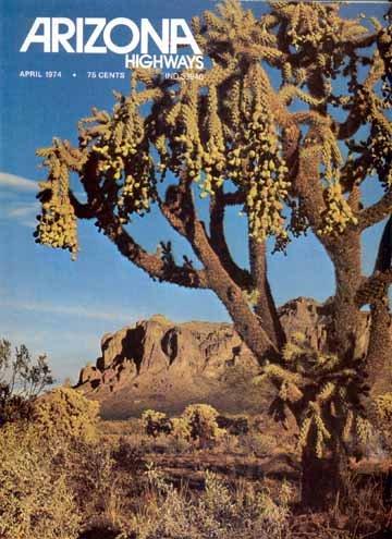 Arizona Highways, April 1974 (Biltmore; Wigwam; Camelback Inn; McCormick Ranch; Arabian Horses) (Vol. 50, No. 4)