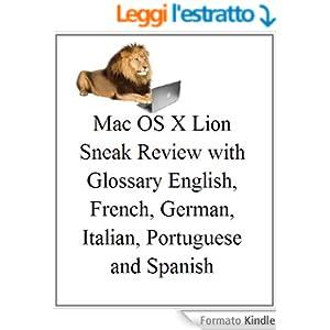 Italian: Mac OS X Lion: Sneak Recensione