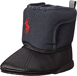 Ralph Lauren Layette Hamilten EZ Weather Boot (Infant/Toddler), Navy Nylon, 4 M US Toddler