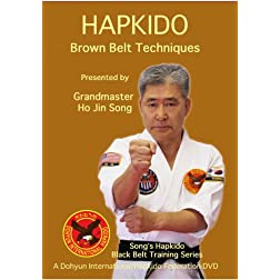 Song's Hapkido Brown Belt Techniques