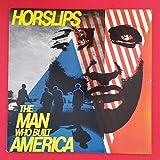 HORSLIPS Man Who Built America LP Vinyl VG++ Sleeve 1979 DJM 20 Masterdisk