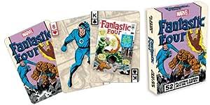 Aquarius Marvel Comics Fantastic Four Playing Card Game