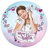 Tortenaufleger Violetta 01
