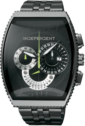INDEPENDENT (インディペンデント) 腕時計 クロノグラフ ITA21-5141 メンズ