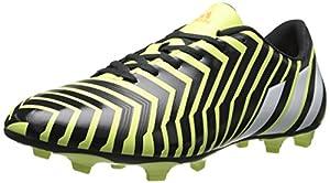 adidas Men's Predito Instinct Firm-Ground Soccer Cleat, Light Flash Yellow/Running White/Dark Shale, 12.5 M US