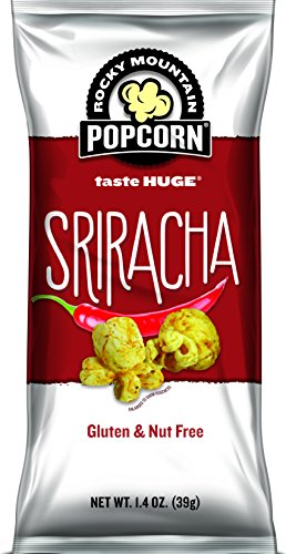 Rocky Mountain Popcorn, Sriracha, 1.4 Ounce (Pack of 12)