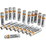 AmazonBasics AAA Everyday Alkaline Batteries [Pack of 20]
