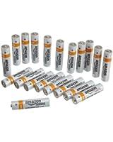 AmazonBasics Lot de 20 Piles Alcalines AAA (LR03)