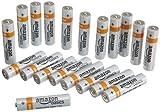 AmazonBasics AAA Everyday Alkaline Batteries [Pack of 20]