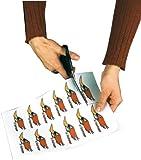 Sattleford 20 Klebefolien wetterfest A4 für Laserdrucker weiß