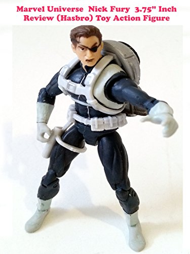 "Marvel Universe 3.75"" Inch NICK FURY review (Hasbro) toy action figure"