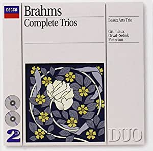 Brahms : Intégrale des Trios