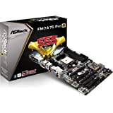 AsRock FM2A75 PRO4 Motherboard (Socket FM2, AMD A75 FCH, DDR3, S-ATA 600, ATX, PCI Express 2.0, 7.1 Channel HD Audio, Supports THX TruStudio)