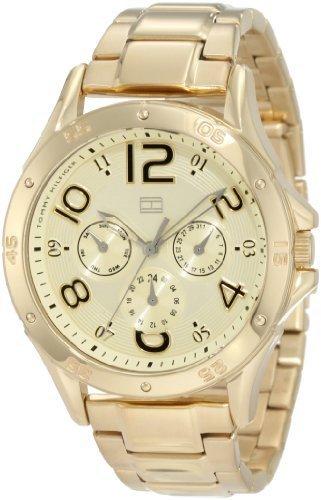 Tommy Hilfiger Women's 1781172 Sport Gold toned Sport Bracelet Watch