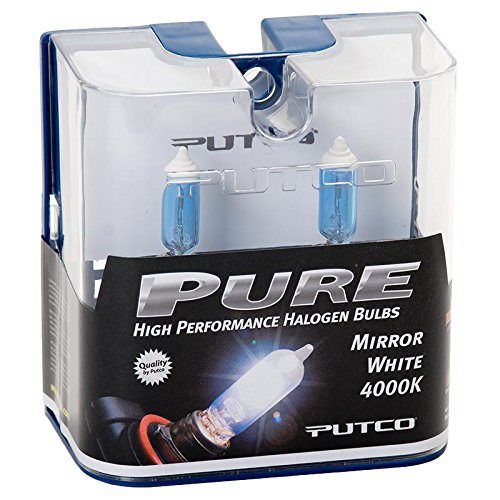 Putco 239005mw Pure Halogen Headlight Bulb Mirror White
