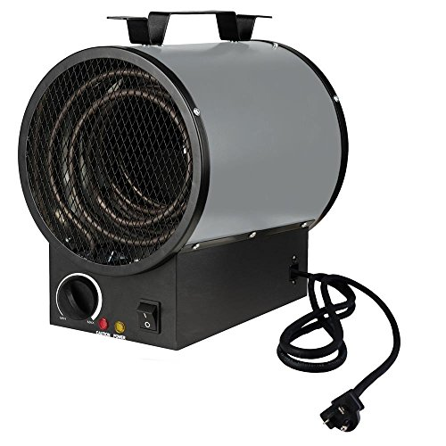 King Electric PGH2448TB 4800-watt 240-volt 30-Amp Garage Heater (Construction Electric Heaters compare prices)