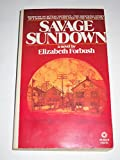 img - for Savage Sundown book / textbook / text book