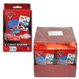 Disney Cars Set of 2 Card Games