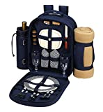 Bold Picnic Backpack w Blanket for 2