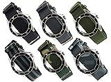 NATO軍G10正規 ストラップ 20mm ナイロン 時計ベルト バンド [クロノワールド chronoworld] [簡単キット付]