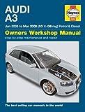 Audi A3 Petrol and Diesel Service and Repair Manual: 03 to 08 (Haynes Service and Repair Manuals) by Gill. Peter T. ( 2010 ) Hardcover