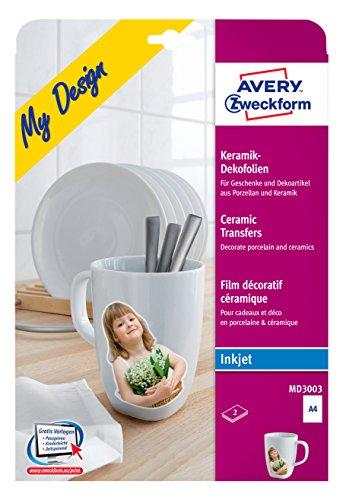 Avery-Zweckform-MD3003-Keramik-Dekofolie-A4-210-x-297-mm-2-Blatt