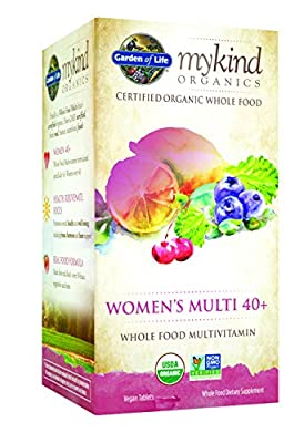 Garden of Life - Kind Organics Women's Multi 40+ Whole Food Multivitamin