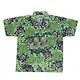 Camisa hawaiana tortuga niño Verde verde