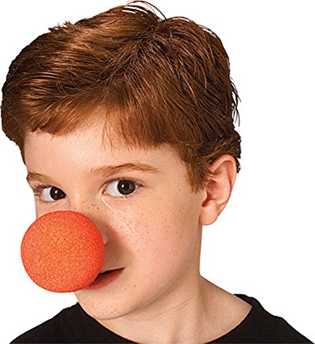 "Rubies Halloween Adult Red Clown Foam Nose 2"" Lot of 2"