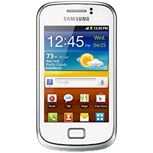Samsung Galaxy Mini 2, Display 3.27