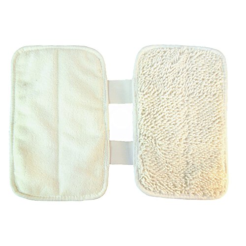 Hqrp Washable Cleaning Pad 2 Pack For Shark P131whf Sonic