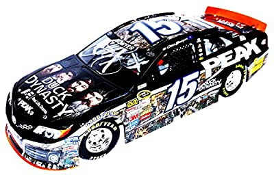 2X AUTOGRAPHED 2013 Clint Bowyer & Michael Waltrip #15 Peak Racing DUCK DYNASTY A&E SHOW (Camo) Signed Lionel 1/24 NASCAR Diecast Car with COA (#1323 of only 3,505 produced!)
