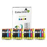 20 XL (4 Sets) ColourDirect Compatible Ink Cartridges Replacement For Epson XP-510 XP-600 XP-605 XP-610 XP-615 XP-620 XP-625 XP-700 XP-720 XP-800 XP-810 XP-820 Printers. - 26 XL