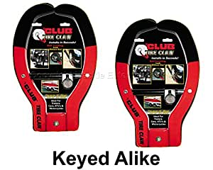 Tire Claw XL Lock - ATV, Auto, Trailer Locks #491KA-2
