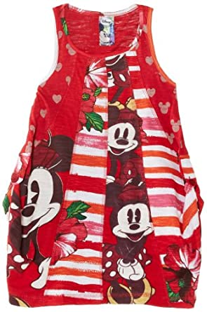Desigual - peris - robe - fille - rouge (rojo clavel) - 4