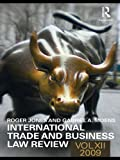 img - for International Trade and Business Law Review: Volume XII: 12 book / textbook / text book