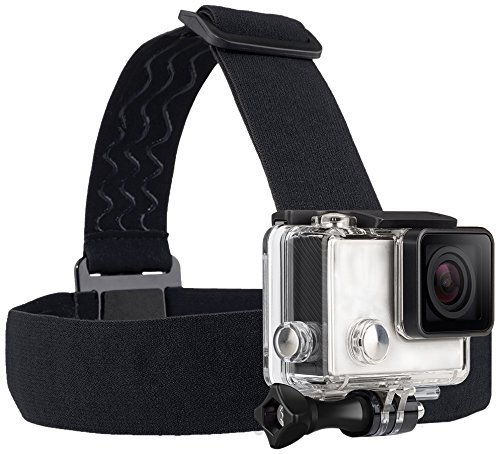 TEKCAM Wearing Headband Head Strap Band Mount with Screw for DBPOWER/Lightdow/AKASO/Campark/WIMIUS Action Sports Outdoor Camera (Head Strap Camera compare prices)