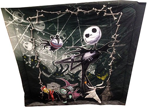 Best Prices! The Nightmare Before Christmas Full / Queen Comforter & 2 Pillowcases with Jack Ske...