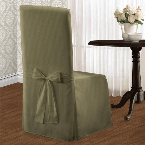 united curtain metro dining room chair cover 19 by 18 by