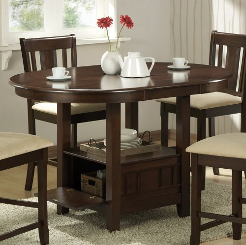 Dining table dining table under storage for Dining room storage